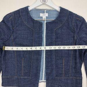 Ann Taylor Loft Jackets & Coats - Ann Taylor Loft Open Front Cropped Jacket